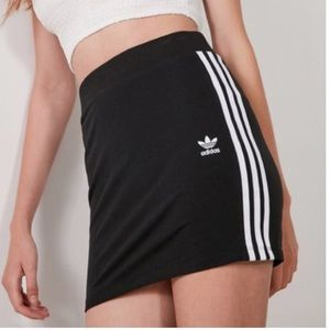 Adidas Originals 3 Stripe Mini Skirt